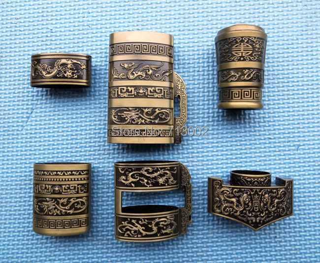 Full set of allumen Case accessories for Tai Chi sword Chinese Wushu sword equipment Dragon