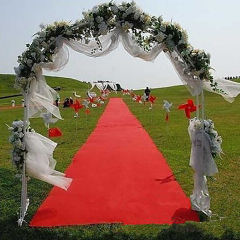 Large 12mx80cm Wedding Red Carpet Birthday Party Hollywood Event Decoration Aisle Floor Runner 23099