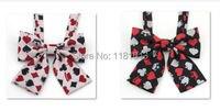 מדים JK תלמידים יפניים עניבת פרפר צווארון   דפוס כרטיס פוקר פרח צווארון רקום K