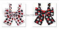 Japanese Students JK Uniforms Bow Tie Collar Embroidered Collar Flower K Poker Card Pattern