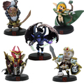 10cm DOTA 2 Game Figure Blademaster Alleria Terrorblade King Leoric Nortrom PVC Action Figures Collection dota2 Toys