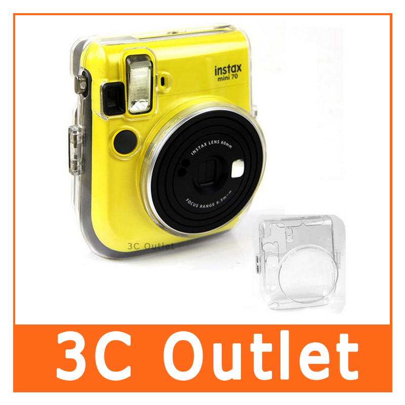 Fujifilm instax mini 70 transparent case crystal case for Housse instax mini 70