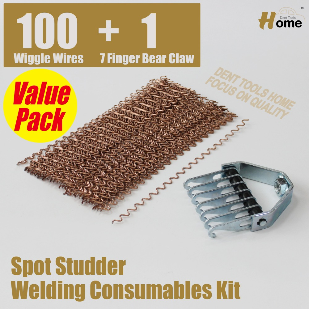Stud Spot Welders Welding Consumables Kit 101pc  SS-101WL  цены