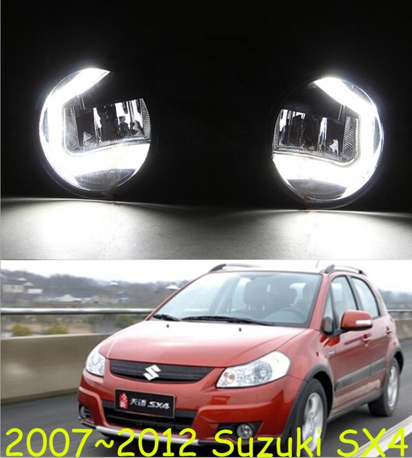 car bumper lamp for headlight Suzuki SX4 Daytime light LED car accessories daylamp for SX4 fog lampcar bumper lamp for headlight Suzuki SX4 Daytime light LED car accessories daylamp for SX4 fog lamp