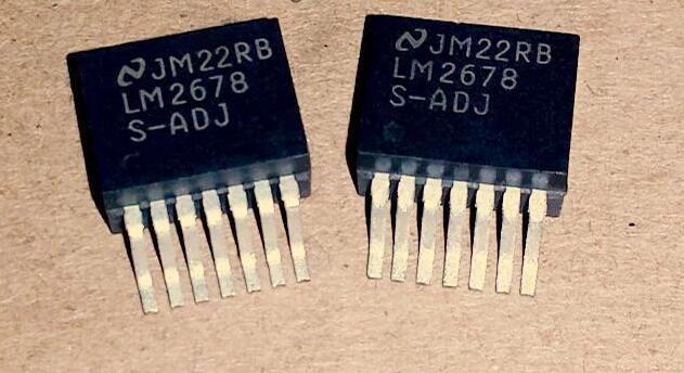 50 adet/grup LM2678S LM2678S-ADJ TO26350 adet/grup LM2678S LM2678S-ADJ TO263