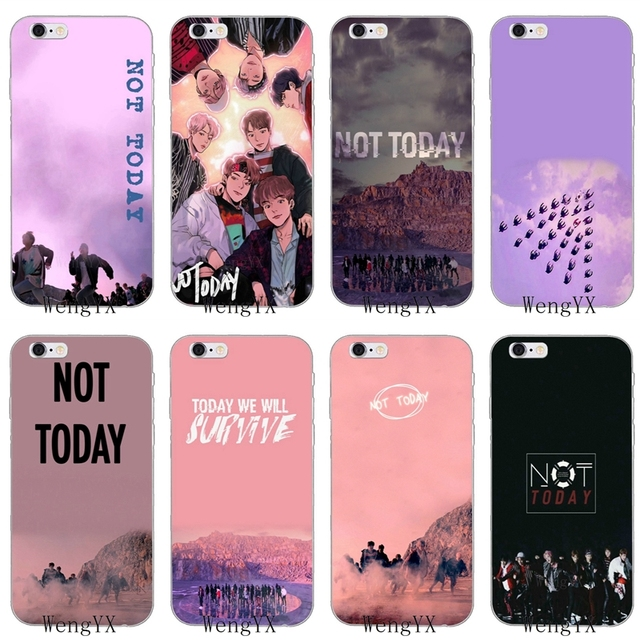 d5346a903acd new kpop BTS Not Today Slim silicone Soft phone case For Xiaomi Mi 6 A1 5  5s 5x mix max 2 Redmi Note 3 4 5 5A 4X pro plus