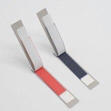 Зубные специальные артикуляционные бумажные полоски для стоматологической лаборатории красный/синий