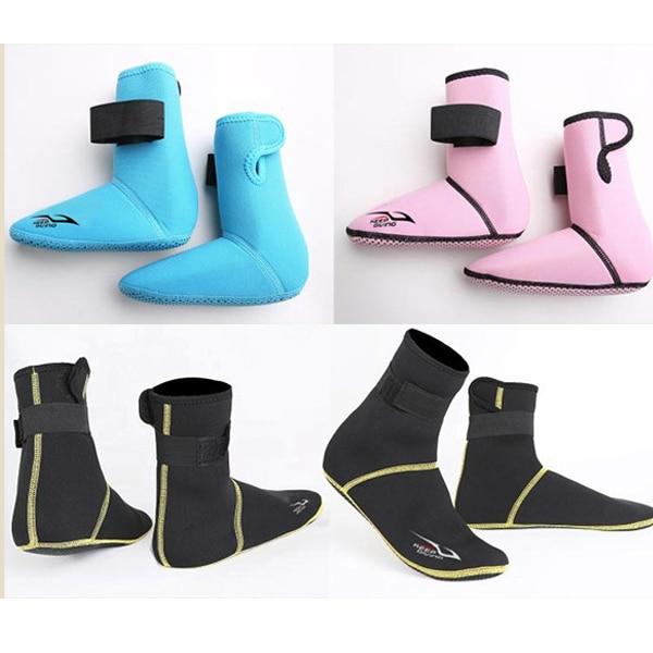 Лидер продаж; 1 пара носков для плавания и серфинга; Плотные Дышащие Высокие неопреновые ботинки для водных видов спорта; DO2