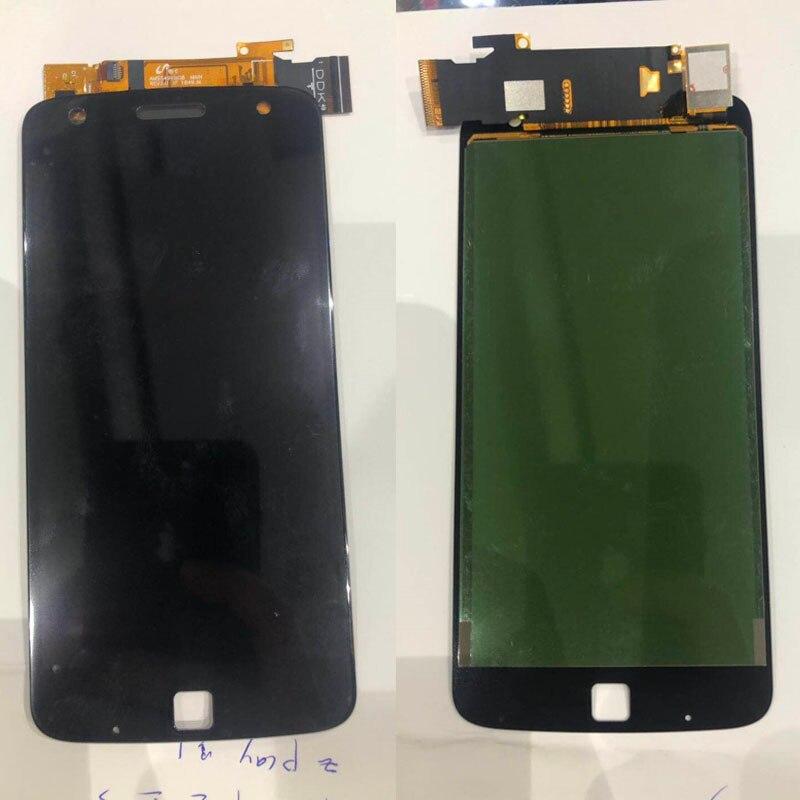 100% Jogo LCD de Exibição Para Motorola Moto Z Para XT1635 Testado Display LCD Touch Screen Digitador Assembléia Frete Grátis