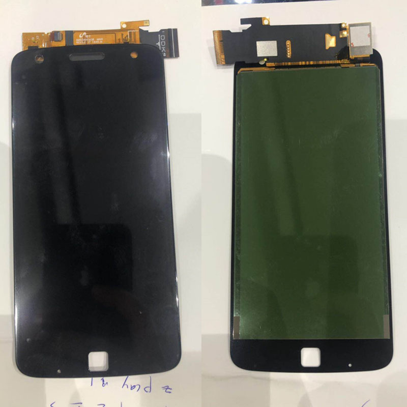 100% Tested Display For Motorola Moto Z Play <font><b>LCD</b></font> For <font><b>XT1635</b></font> Display <font><b>LCD</b></font> Screen Touch Digitizer Assembly Free Shipping image