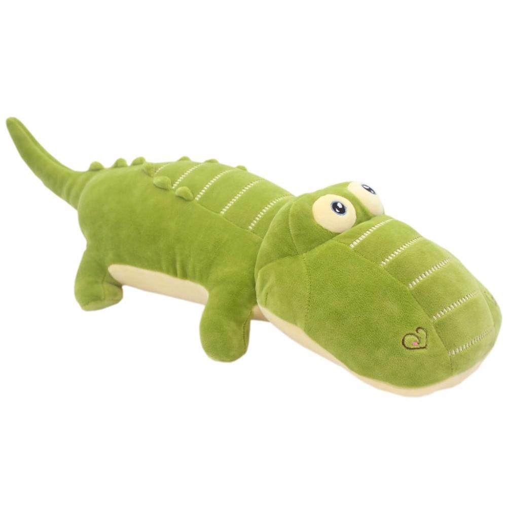 JESONN Soft Plush Leksaker Alligator Kuddar Fyllda Djur Krokodil För Barns Presenter, 50 CM