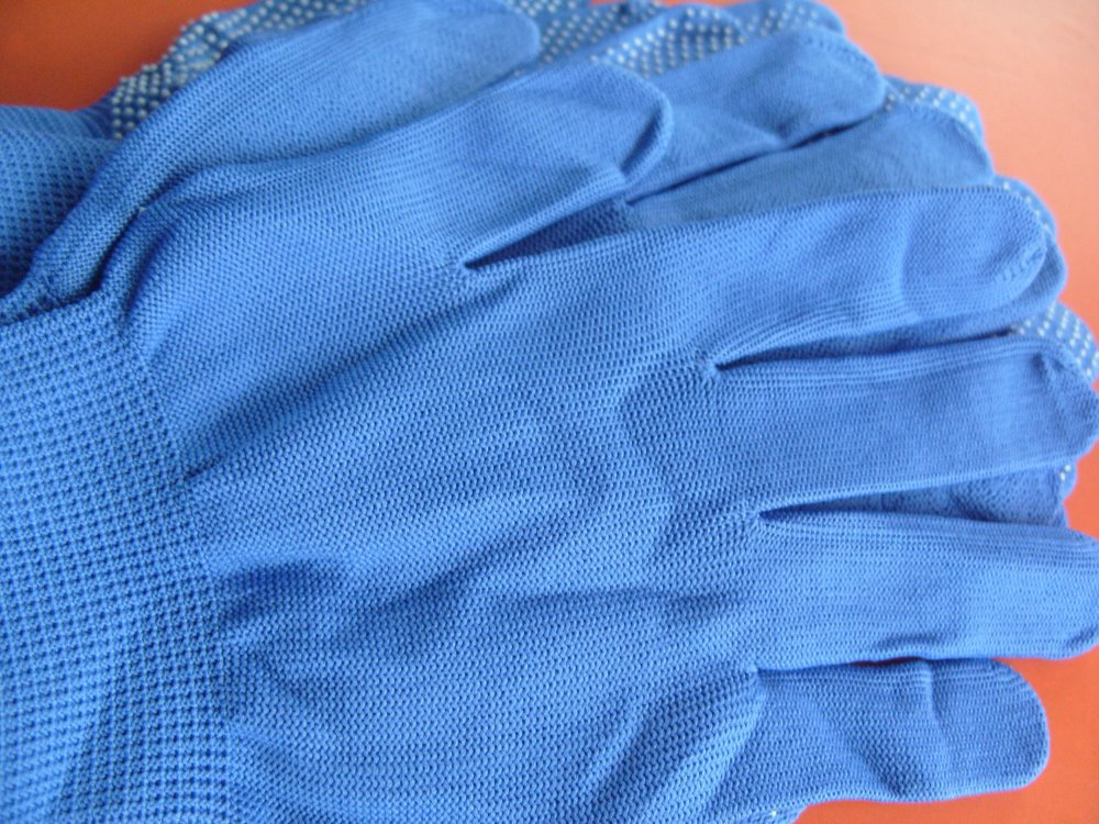 Doprava zdarma 12 párů Nylon dot plast Palm Protiskluzová ochrana - Sady nástrojů - Fotografie 3