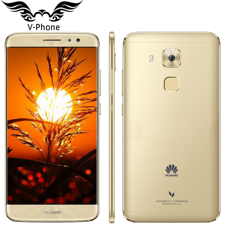 Original Huawei Maimang 5  5.5 inch Octa Core 4GB 64GB 2 Rear Camera Fingerprint MSM8953  Android 6.0 16.0MP 2.5D Mobile Phone