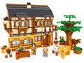 Kits de edificio modelo compatible con lego nueva ciudad granja 3D modelo de construcción bloques Educativos juguetes y pasatiempos para niños