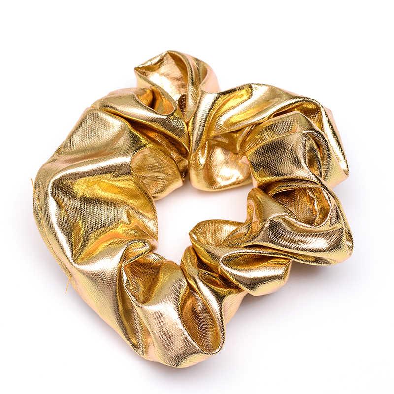 נשים פצפוצי שיער קשרי שיער אלסטי להקות נשים שיער אביזרי Headwear קוקו שיער מחזיקי זהב כסף שחור צבע