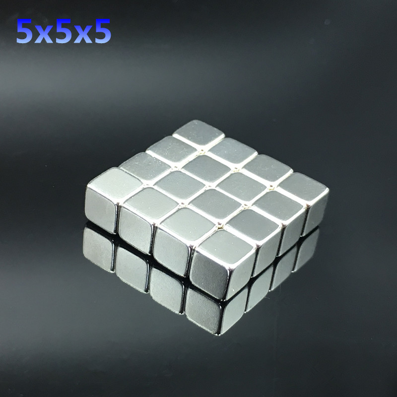 1p/50p <font><b>Neodymium</b></font> <font><b>Magnet</b></font> <font><b>5x5x5</b></font>/10/20/30x20x10mm Block square strong magnetic All Sizes Small Strong Rare Earth permanent image
