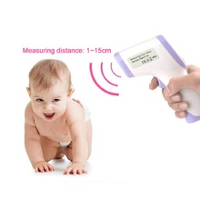 Baby Digital Thermometer IR Infrared Thermometer Non-contact Forehead Body Surface Temperature Instruments Data Hold Function цена