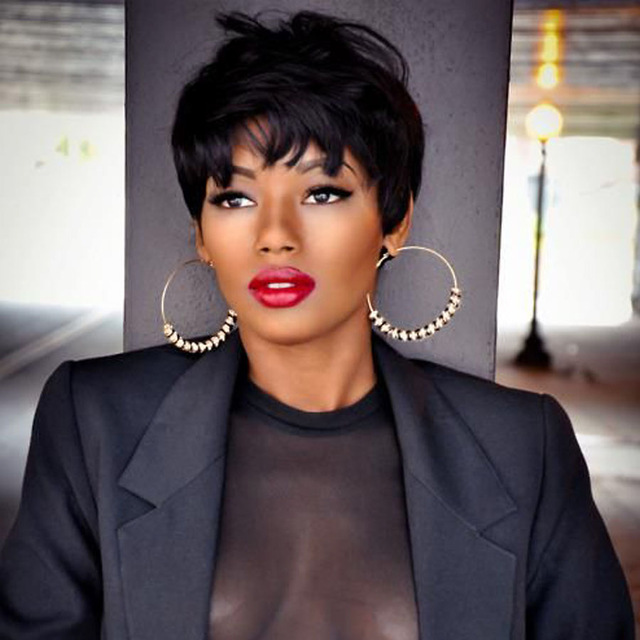 Accept. short human hair wigs for black women apologise