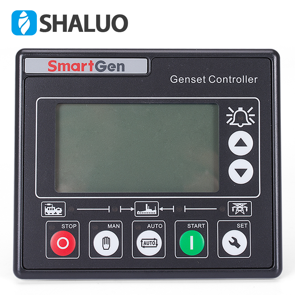 все цены на HGM420 Diesel generator set controller auto start genset part electronic smartgen universal LCD display remote board controller онлайн
