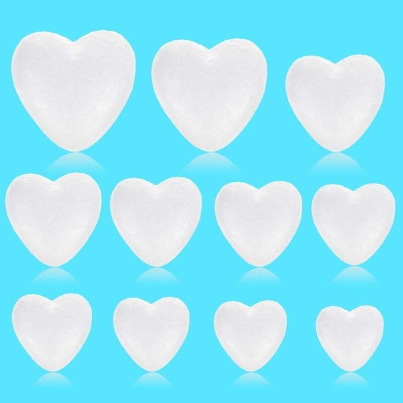 Фестиваль дни рождения аксессуары Сердце Форма белая пена свадебные украшения