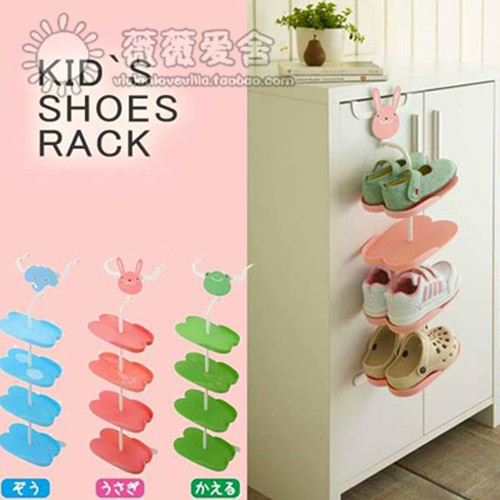 An Imported Children S Cartoon Baby Multilayer Simple Ideas Hanging Shoe Rack Vertical Storage Compartment