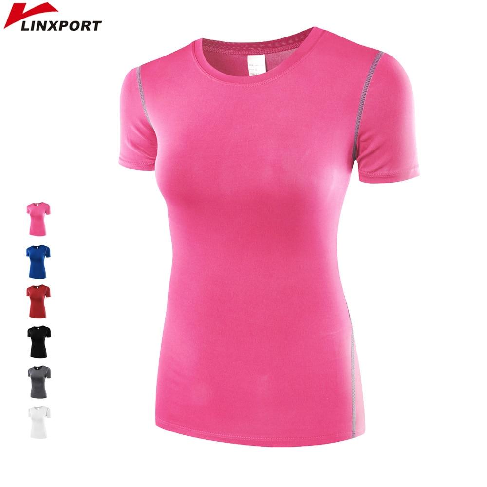 Bluza Profesionale për Gratë Ushtrime Drejtimi Sportet Me mëngë të shkurtra Teasat e Tharjes së Shpejtë Ushtrimet e vrapimit Ushtrimet e vrapimit Toga Toga Jerseys