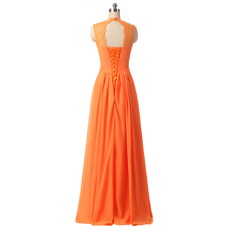 Popular black and orange bridesmaid dresses buy cheap for Black and orange wedding dresses