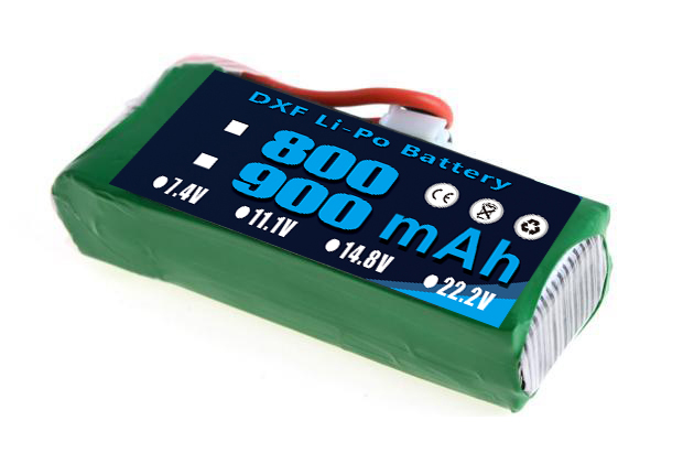 2017 DXF 11.1V 900mAh 20C <font><b>3S</b></font> Li-Po Battery EK1-0188 <font><b>Lipo</b></font> Battery for Esky Big Lama HM RC Car Airplane Helicopter image