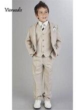 Custom Made Kids Wedding Suits Boys Children Tailcoats Baby 3 piece
