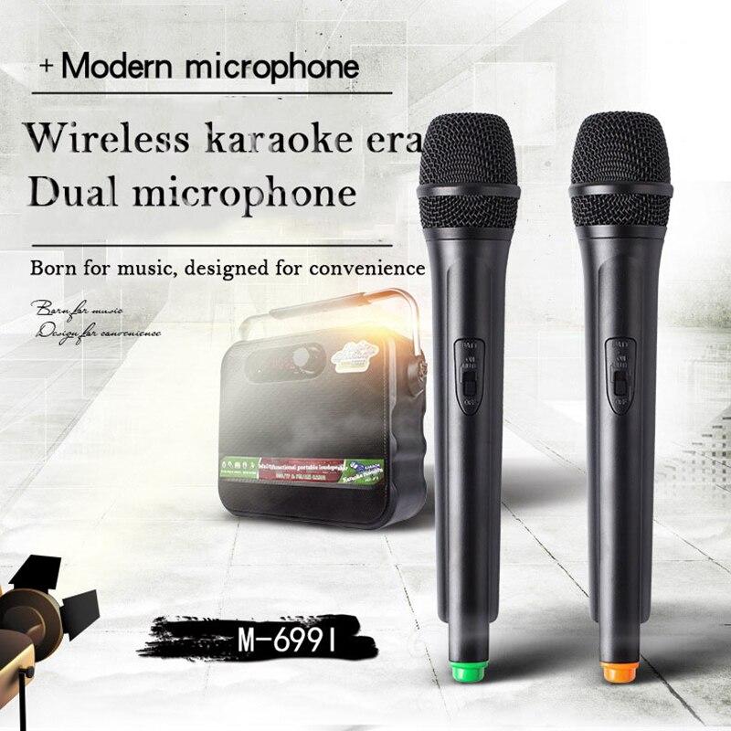 Hifi Multifunktions Tragbare Megaphon Drahtlose Loundspeaker Mit Bluetooth Dual Mikrofon Verstärker Für Touren Guide Dance Bühne Ideales Geschenk FüR Alle Gelegenheiten Megaphon Tragbares Audio & Video