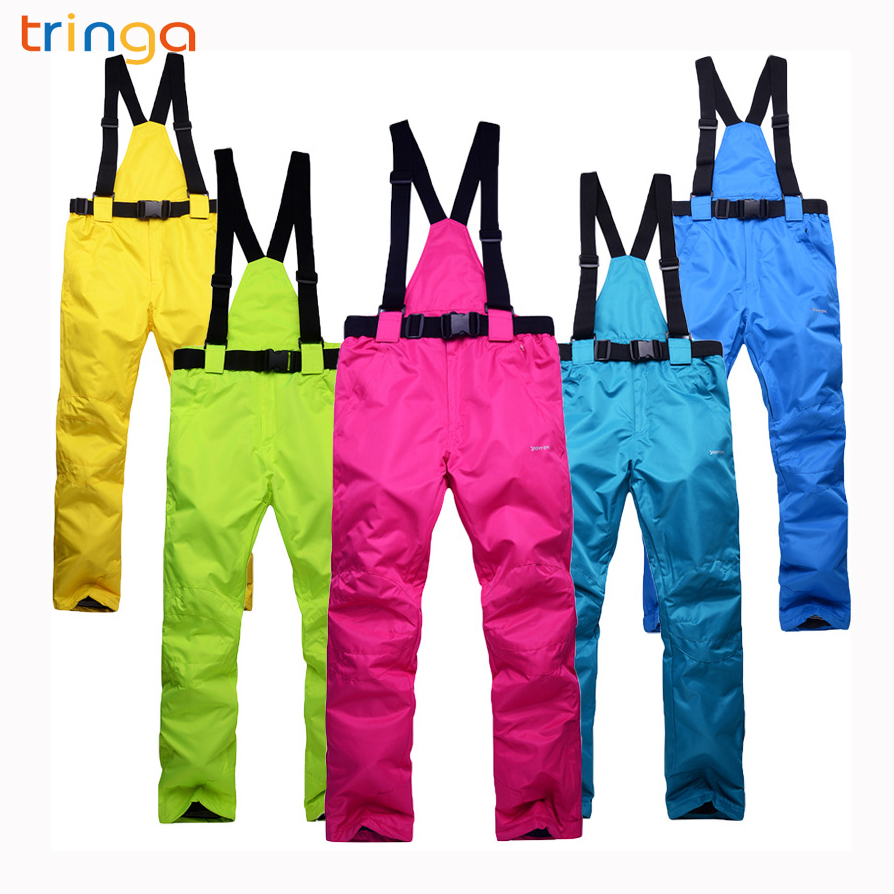 TRINGA New Ski Pants Outdoor Sports High Quality Women Men Ski Pants  Windproof Waterproof Warm Winter. US  28.49. TRINGA Brands Ski Jacket Men  Woman ... ff59ca72f