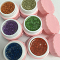 1 Box Multicolor UV Gel Dried Flowers Decor Soak Off UV Gel Nail Art Gel Polish Manicure Nail Art Decoration