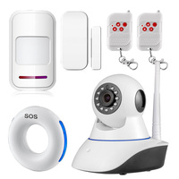 Wireless Sensors 720P Security Network WIFI IP Camera Megapixel HD Digital Security Camera IR Infrared Night