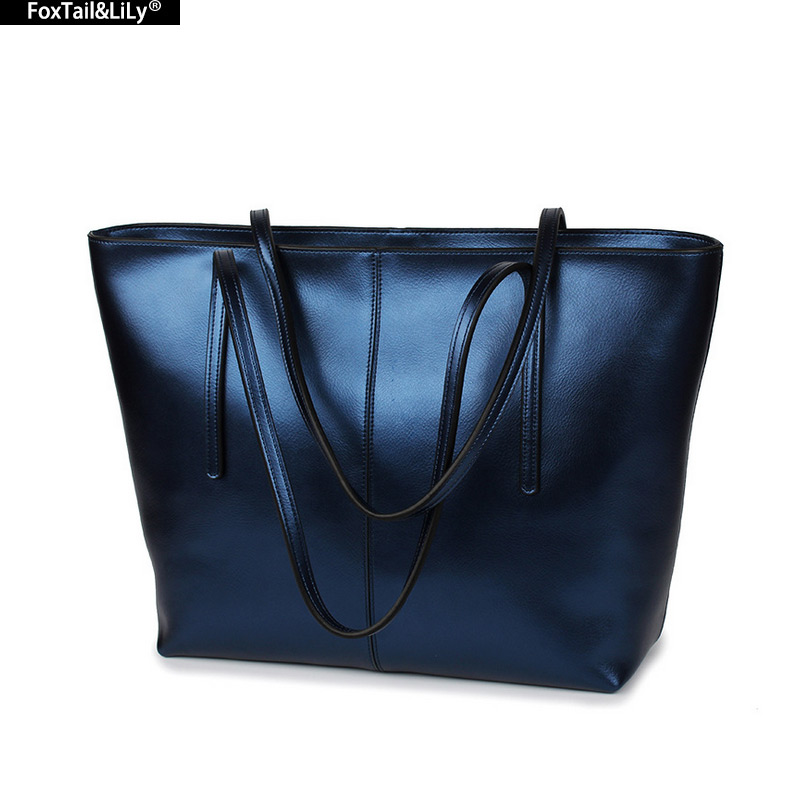ФОТО 2016 Women Genuine Leather Shoulder Bag Cowhide Women's Totes Designer Brand Handbags for Ladies High Quality Female Bags