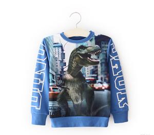 T shirt crianças 3d Parque Jurássico dinossauro 2017 meninos roupas crianças camisetas vestuário infantil meninos designer miúdos marca