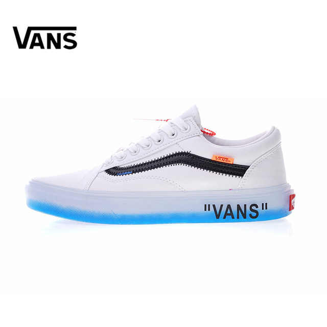 1fd36743e7 Original New Arrival Vans X Off-White Men s   Women s Style 36 Low-top