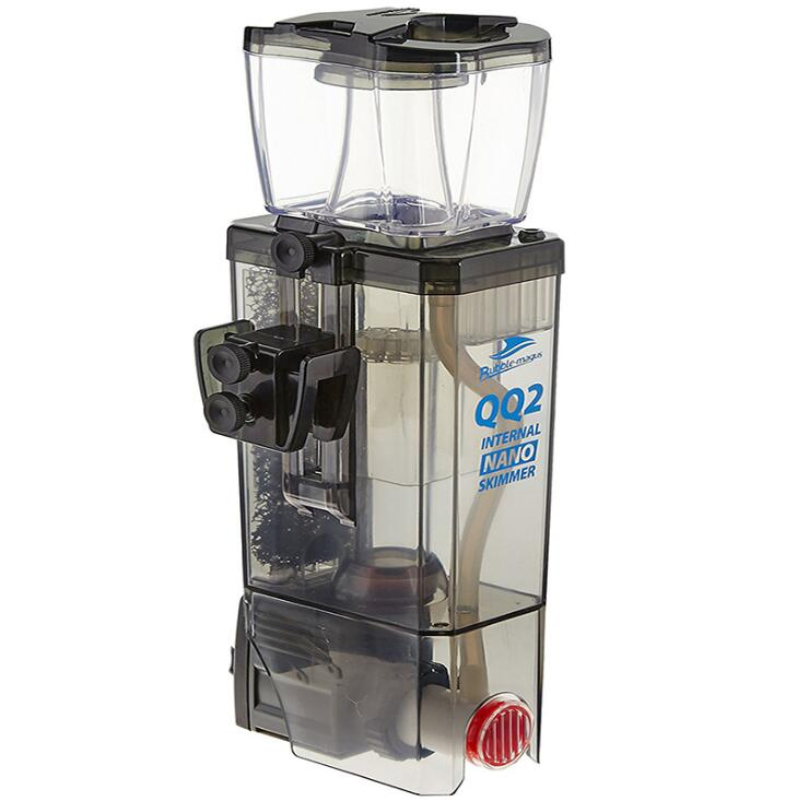 Bubble Magus QQ2 Hang On Nano Protein Skimmer Internal Sump Pump Saltwater Marine Reef Needle Wheel