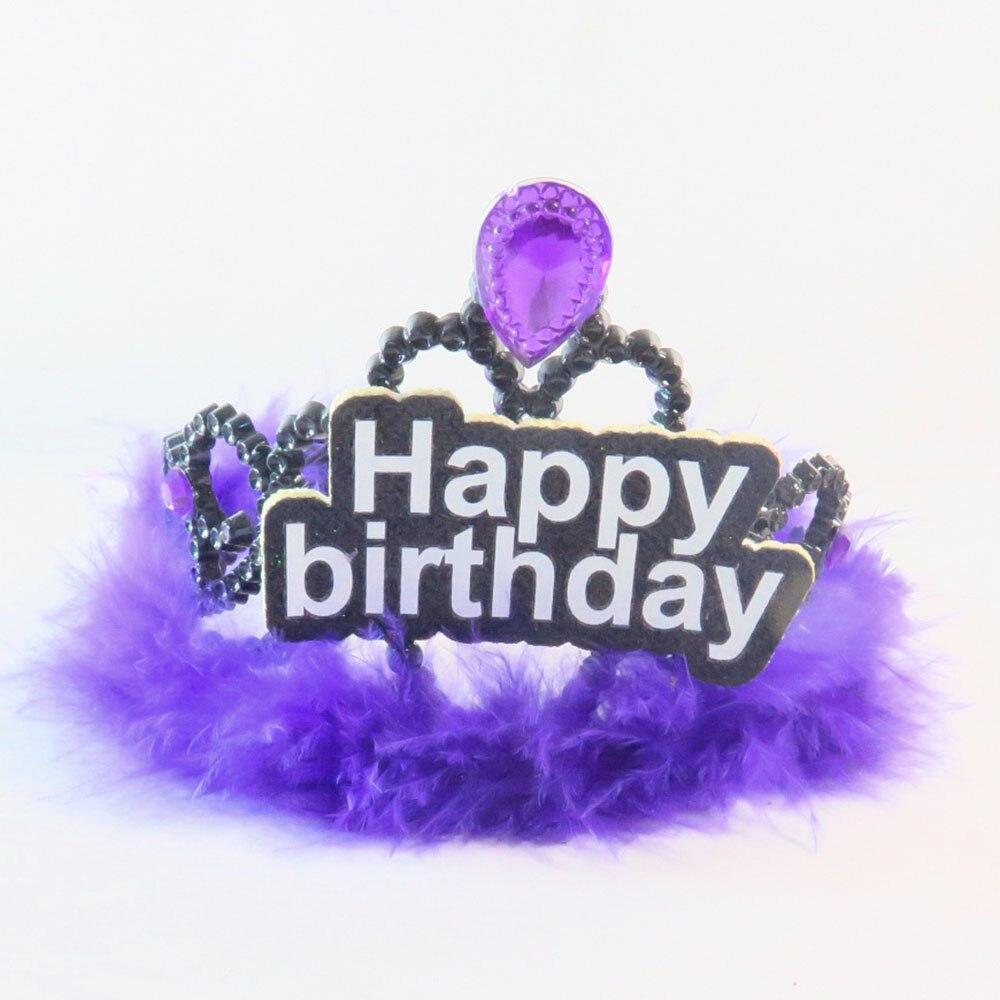 2018 NEW Design Birthday Girl Fedora Mini Hat On Hair