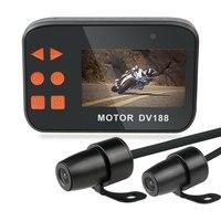 WINTUWAY DV188 Action Sports Camera 1080P Video DVR Waterproof Bike Motorcycle Car Vehicle Cam Dual Lens Dash Camera Camcorder