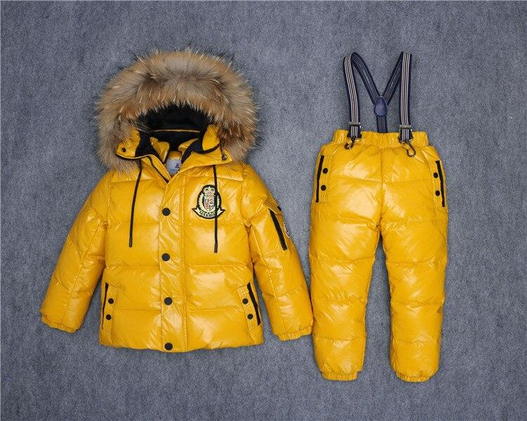 außergewöhnliche Auswahl an Stilen Wählen Sie für offizielle gutes Angebot 3 ~ 7 T Russische Echtfell Warme Kinder Kleidung Sets ...