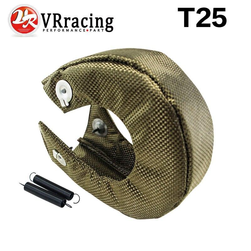Prix pour VR RACING-T25/T28 GT25 GT28 GT30 GT35 TURBO/TURBOCOMPRESSEUR 100% FULL TITANIUM CHALEUR BOUCLIER/WRAP COUVERTURE VR1302-2T