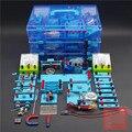 Hoge school natuurkunde elektrische experimentele apparatuur gereedschap sets experimentele doos onderwijs apparatuur