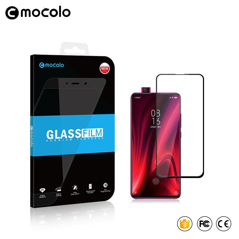 Mocolo 2.5D 9H Full Cover Tempered Glass Film On For Xiaomi MI 9 SE 9T Pro Mi9 9SE Mi9t t 64/128/256 GB Global Xiomi Protector(China)