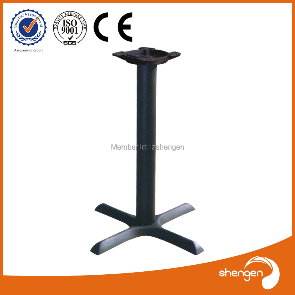 Contemporary Long Metal Steel Cast Iron Restaurant Coffe Table Leg - Restaurant table base parts