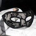 Romántico Encaje moda gilr sexy fiesta de Halloween Cosplay Máscara de Halloween Navidad máscara de mujer niños Masquerade máscara LF-M-00022