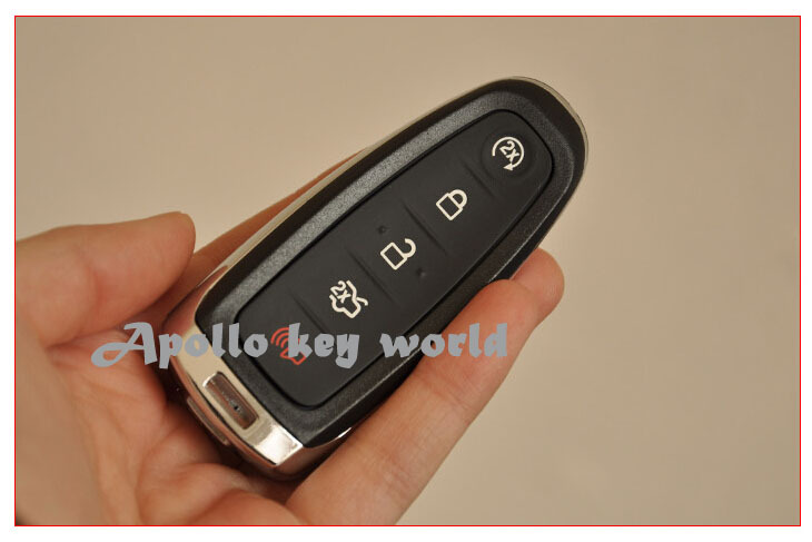 3 PCS LOT KEYLESS SHELL SMART REMOTE KEY COVER CASE FOB FOR FORD LINCOLN 5 BUTTONS