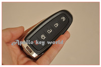 3 PZ/LOTTO KEYLESS SHELL SMART REMOTE KEY CASE COVER FOB PER FORD LINCOLN 5 PULSANTI