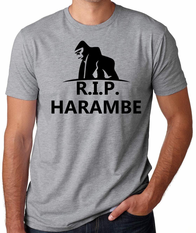 Harambe Gorilla T-shirt Harambe Gorilla Shirt Support Harambe Shirt