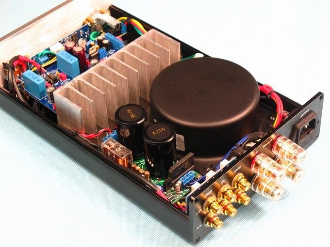 OPA2604+LM3886 thermal grade HiFi power amplifier (three input band protection) купить чай femrich opa украина
