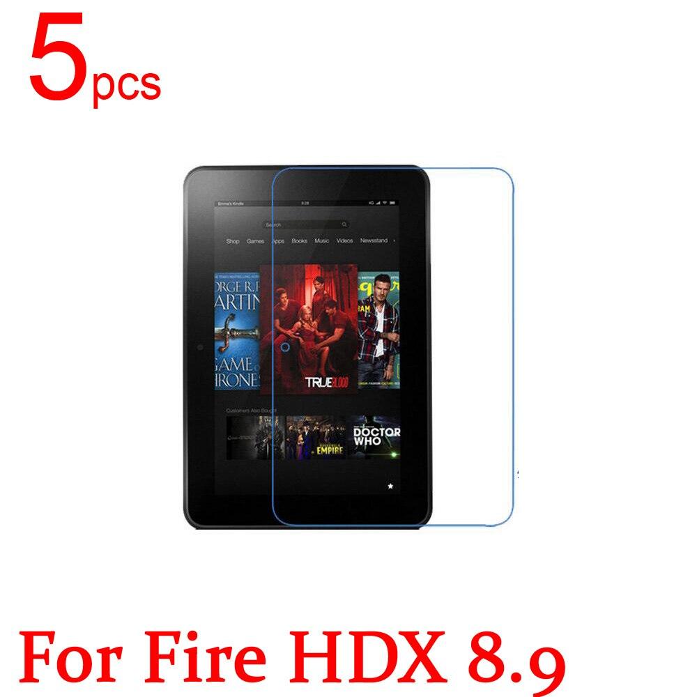 5 stücke ultra clear/matte/nano anti-explosion lcd-schirm-schutz-film-abdeckung für amazon kindle fire hdx 7...